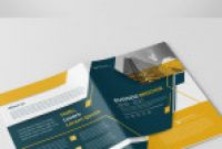 Welcome Brochure Template New Cover Layout with Yellow and Gray Accents Buy This Stock Template