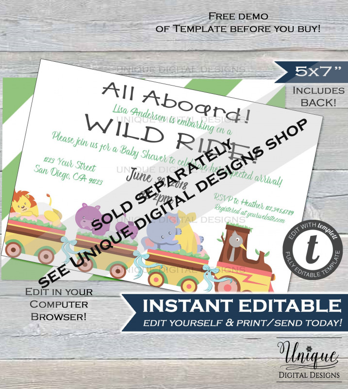 Zoo Brochure Template Best Farm Animal Birthday Invitation Editable Petting Zoo Birthday Party I
