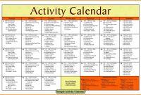 Blank Activity Calendar Template New Church Calendar Template 14 Blank Activity Calendar Template
