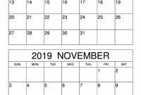 Blank Activity Calendar Template Unique Blank October November 2019 Calendar Template Net Market