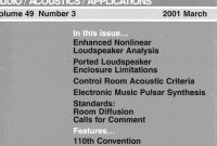 Blank Audiogram Template Download New Aes E Library A Complete Journal Volume 49 issue 3