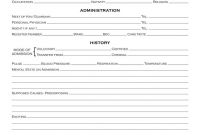 Blank Autopsy Report Template Awesome Arkham Sanitarium Patient Admission form Arkham asylum
