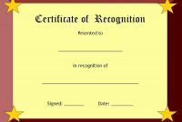 Blank Award Certificate Templates Word Awesome Free Award Certificate Template Word Lovely Blank