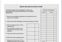 Blank Bank Statement Template Download New Bank Account Reconciliation form Jasonkellyphoto Co