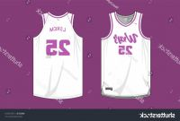 Blank Basketball Uniform Template Awesome Basketball Uniform Template Vector Cqrecords
