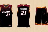 Blank Basketball Uniform Template New Miami Heat Jersey Template