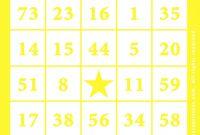 Blank Bingo Template Pdf Awesome Free Blank Bingo Card Template atelier Kafana Me