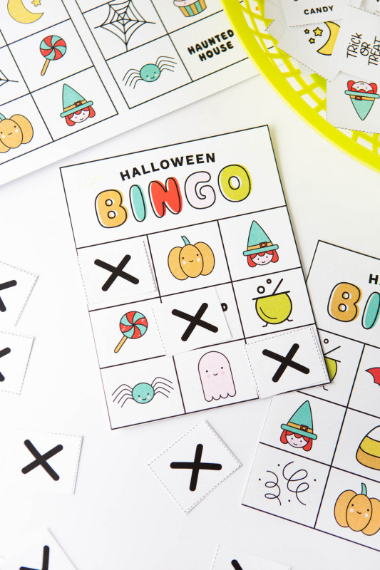 Blank Bingo Template Pdf New Free Printable Halloween Bingo Cards Design Eat Repeat