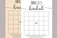 Blank Bridal Shower Bingo Template New Blush Floral Printable Bridal Shower Bingo Free Wedding
