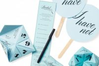 Blank Bridal Shower Bingo Template Unique Bridal Shower Games and Activities that are Actually Fun