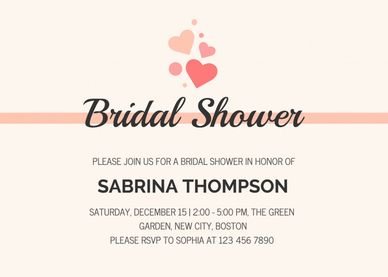 Blank Bridal Shower Invitations Templates Unique 30 Bridal Shower Invitations Templates Locksmithcovington