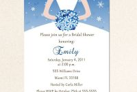 Blank Bridal Shower Invitations Templates Unique Free Bridal Shower Invitation Templates Free Blank Bridal