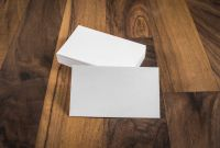Blank Business Card Template Download Unique Piles Of Blank Business Cards On Wood Table Background