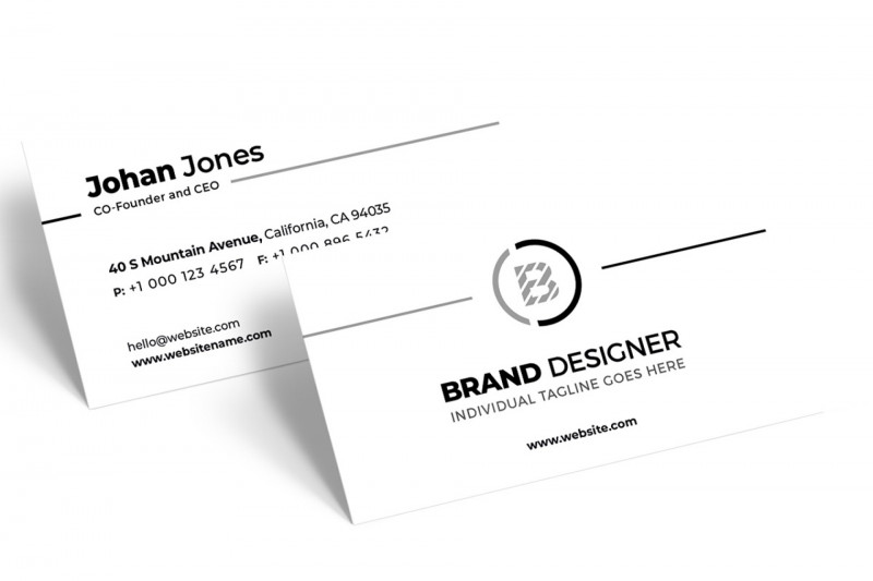 Blank Business Card Template Photoshop Awesome Remarkable Blank Business Card Template Psd Ideas Photoshop
