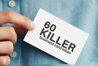 Blank Business Card Template Psd New 60 Modern Business Cards to Make A Killer First Impression