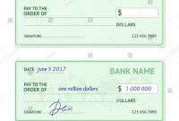 Blank Business Check Template New Template Blank Classic Bank Check Business Stock