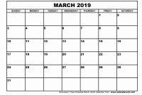 Blank Calender Template New Free Printable Blank Calendar Template Monthly 2018 Word