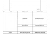 Blank Call Sheet Template Unique Pin by Nizaam Uddin On Film Making Rules In 2019 Movie