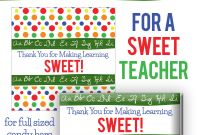 Blank Candy Bar Wrapper Template Unique Teacher Appreciation Candy Bar Wrapper Printable