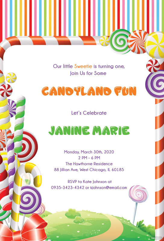 Blank Candyland Template Unique Candyland Banner Birthday Nw88 Advancedmassagebysara