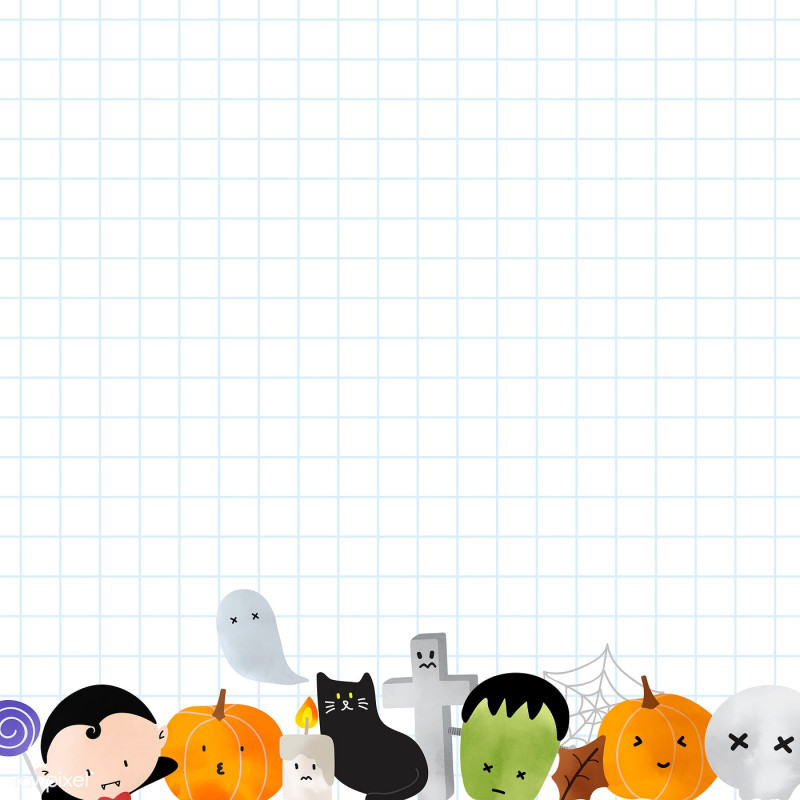 Blank Cat In The Hat Template New Download Premium Vector Of Cute Halloween Background Vector Template