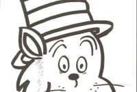 Blank Cat In the Hat Template Unique Printable Coloring Pages for Cat In the Hat Bluedotsheet Co