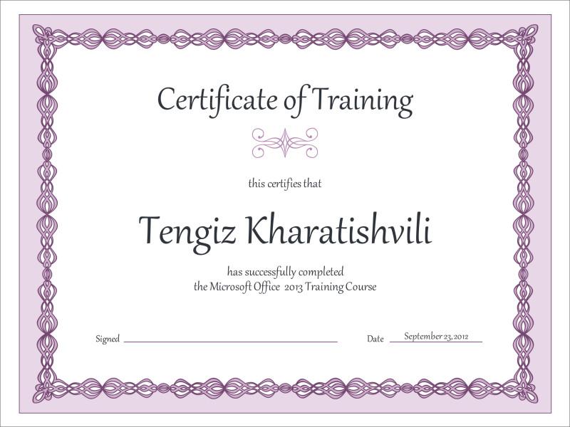 Blank Certificate Of Achievement Template Unique 50 Free Creative Blank Certificate Templates In Psd