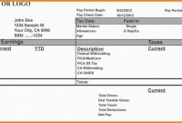 Blank Cheque Template Download Free Unique Free Printable Pay Stubs Blank Paycheck Check Template