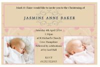 Blank Christening Invitation Templates Awesome Baby Christening Invitations Wording Baby Boy Baptism