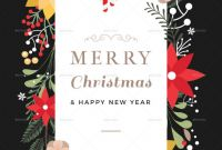 Blank Christmas Card Templates Free Awesome 45 Christmas Premium Free Psd Holiday Card Templates For