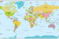 Blank City Map Template Awesome World Map With Countries