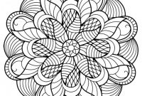 Blank Color Wheel Template Awesome Blank Mandala Template Free Printable Mandala Coloring Pages