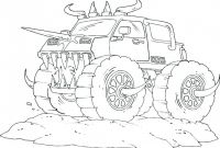 Blank Color Wheel Template Unique Coloring Pages Coloring Pages Monster Truck for Kids