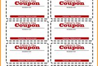 Blank Coupon Template Printable New 038 Free Blank Coupons to Print Elegant Breathtaking