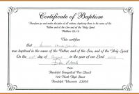 Blank Coupon Template Printable New Baptism Certificate format Bismi Margarethaydon Com