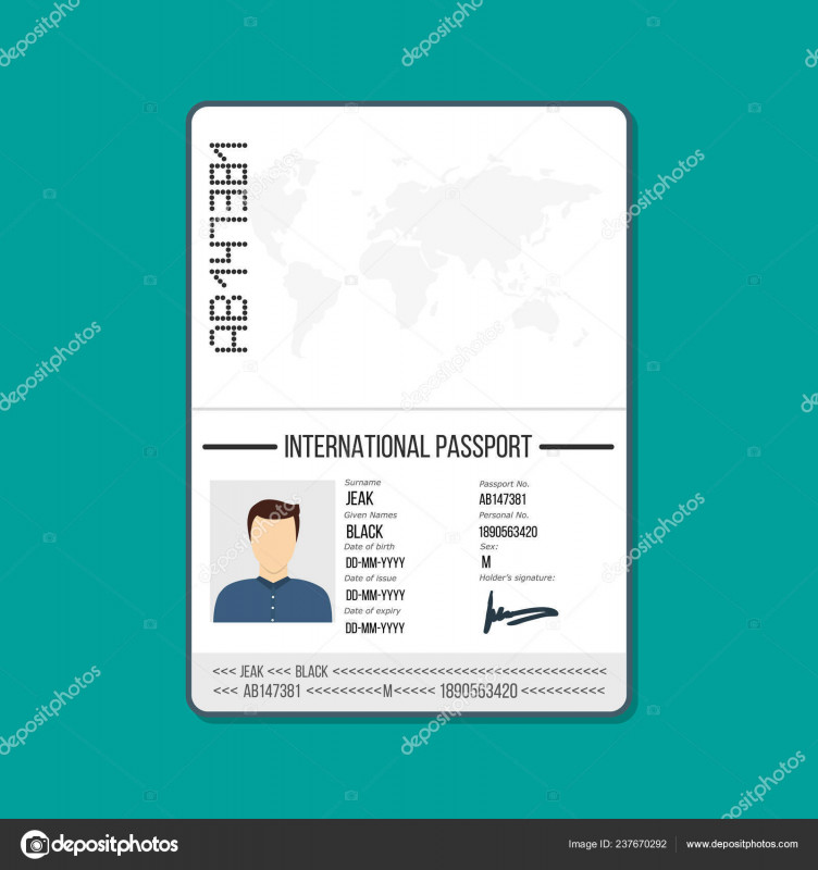 Blank Drivers License Template New Cartoon Passport Template Cartoon Card Car Driver License
