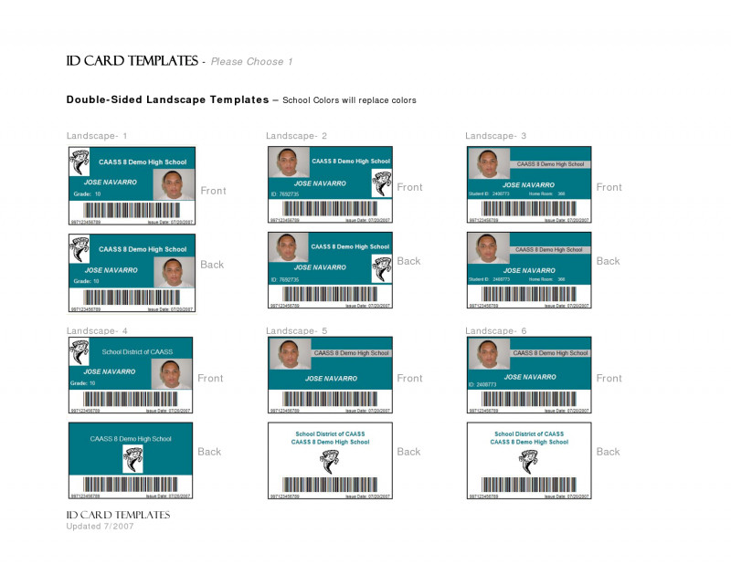 Blank Drivers License Template Unique Key Features Employee Id Cards Small West Virginia Fake Id