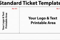 Blank Elephant Template Awesome Free Printable Raffle Ticket Template Diaper with Numbers