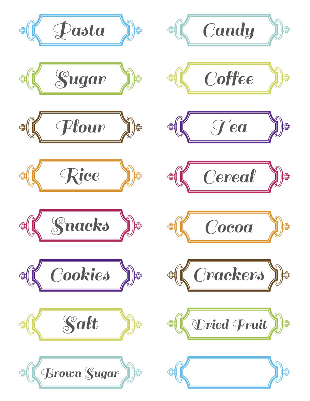 Blank Food Label Template Unique 11 Free Printable Label Design Template Images Printable