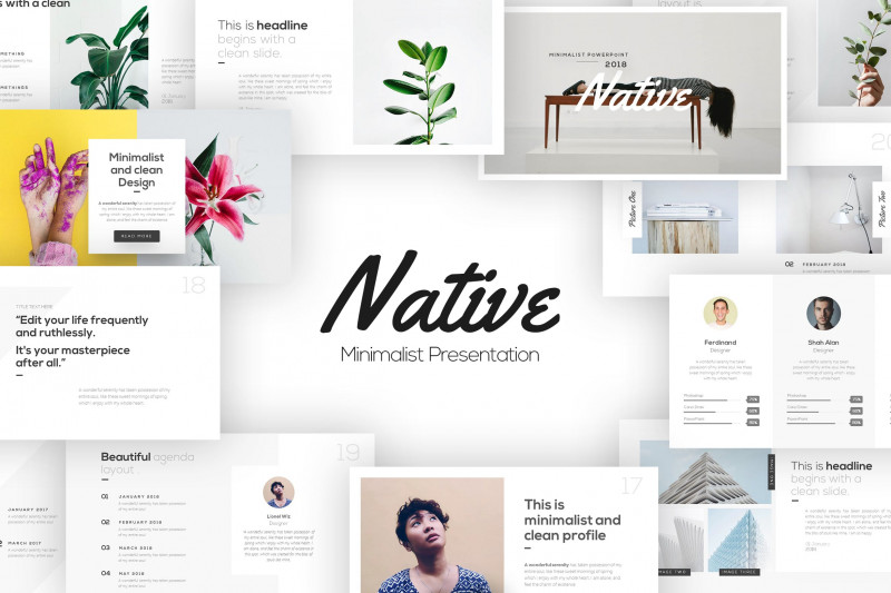 Blank Food Web Template New 20 Best Powerpoint Templates For Presentations In 2019 Envato