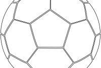 Blank Football Field Template New Coloring soccer Ball Coloring Sheet Printable Sheets Of