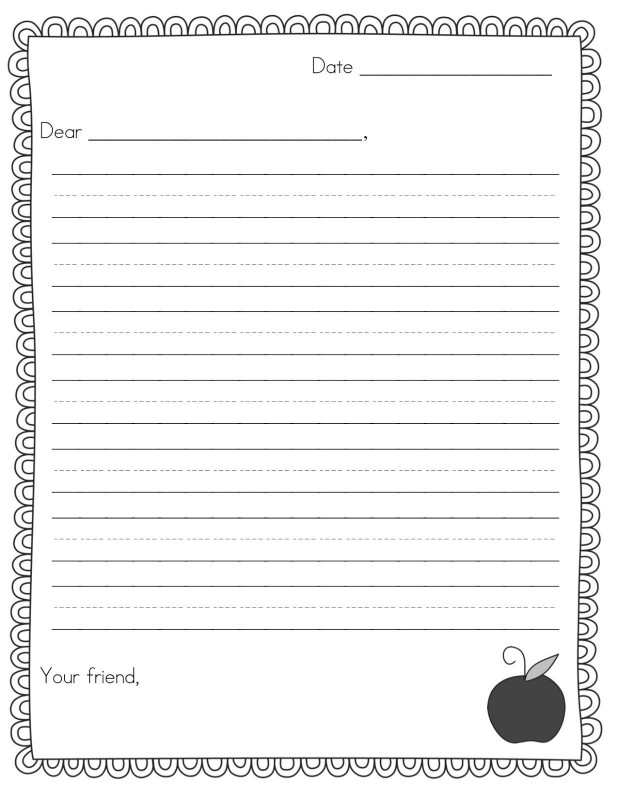 Blank Frayer Model Template Awesome Perfect Friendly Letter Template For 3rd Grade Waraw Org