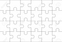 Blank Jigsaw Piece Template Awesome 018 Jigsaw Puzzle Blank Template or Cutting Guidelines Of