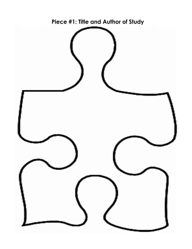 Blank Jigsaw Piece Template Unique Free Autism Puzzle Piece Coloring Page Download Free Clip