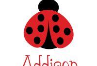 Blank Ladybug Template Awesome Ladybird Template Ladybird Powerpoint Template Backgrounds