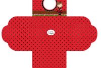 Blank Ladybug Template New Ladybugs Free Printable Boxes Oh My Quinceaneras
