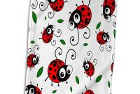 Blank Ladybug Template Unique Amazon Com 3drose Cute Red Pattern with Green Leaves On