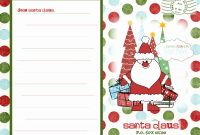 Blank Letter From Santa Template New Santa Claus Letter Powerpoint Pptstudios Nl