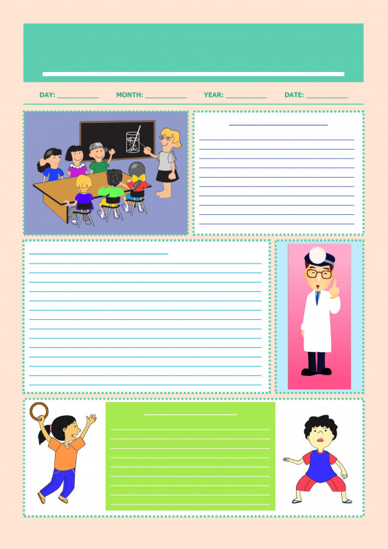 Blank Letter Writing Template For Kids Awesome Editable Newspaper Template Google Docs Free Download