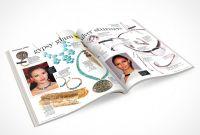 Blank Magazine Spread Template Awesome Free Magazine Psd Mockups Psd Mockups